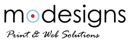 Modesigns Print & Web Solutions Logo